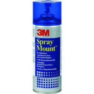 1 Boîte 1/vE (12 doses)-très anfangshaftkraft sprayMount colle repositionnable, 12, 279 x 400 ml/g, détachable de la marque 3M image 0 produit
