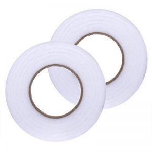 10 mm par 70 Yards Bande d'ourlet Auto-Adhésive Tissu Fusing Ruban Fer à Repasser sur Ruban, 2 Rouleaux de la marque Shappy image 0 produit