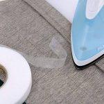 10 mm par 70 Yards Bande d'ourlet Auto-Adhésive Tissu Fusing Ruban Fer à Repasser sur Ruban, 2 Rouleaux de la marque Shappy image 4 produit