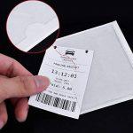 12pcs 10*8cm Pochette Adhésive Transparente pour Coller Ticket de Stationnement Parking Carte Vignette Assurance sur Pare-brise Voiture de la marque JNCH image 4 produit