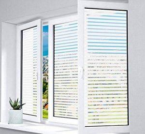 1Plusselect Film Fenêtre Electrostatique Autocollant Film Vitrage Non Adhesif Film pour Salle De Réunion Home Office Portes Cuisine, 43 x 300 cm de la marque 1Plusselect image 0 produit