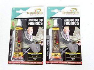 2x Clair élastique solide Colle Tissus Coton, Denim, feutre, Jute, toile de haute qualité NEUF de la marque Technicqll image 0 produit