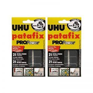 2x UHU Patafix Propower, nouveau ablösbare adhésifs, 2x 21pièces de la marque POWERHAUS24 image 0 produit