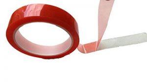 20m Ruban adhésif double face extra fort Sticky Tape–Transparent fin–Double ruban adhésif Ruban de montage–Intérieur & extérieur Bau Atelier, maison 5mm ou 10mm ou 15mm ou 20mm de la marque STICKYPro image 0 produit