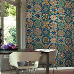 (25 PIECES) Carrelage Mural Adhésif- Mosaique murale -cuisine Stickers - 20cm * 20cm - Coloré(TM) - Adhésive décorative à carreaux pour salle de bains et cuisine Stickers carrelage - collage des tuiles adhésives de la marque Coloré image 4 produit