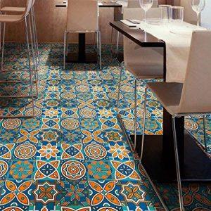 (25 PIECES) Carrelage Mural Adhésif- Mosaique murale -cuisine Stickers - 20cm * 20cm - Coloré(TM) - Adhésive décorative à carreaux pour salle de bains et cuisine Stickers carrelage - collage des tuiles adhésives de la marque Coloré image 0 produit