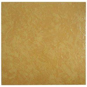28x 28x Dalles de sol en vinyle–Autocollant–Cuisine/Salle de Bain Adhésif–Marbre Orange Uni Neuf–197 de la marque Quality Products image 0 produit