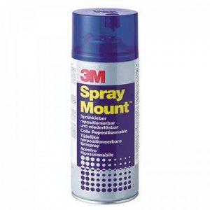 3M 19295 Colle Aérosol Spray Mount Idéale Montages Successifs Repositionnable 400 ml Couleurs Assorties de la marque 3M image 0 produit