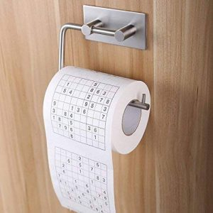 3M Adhésif Porte-Rouleau pour Papier WC Salle de Bain Support Papier Toilette , Brossé Acier Inoxydable de la marque ZUNTO image 0 produit