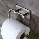 3M Adhésif Porte-Rouleau pour Papier WC Salle de Bain Support Papier Toilette , Brossé Acier Inoxydable de la marque ZUNTO image 2 produit