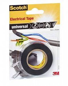 3M Scotch Ruban Electrique 10m x 15mm 1 Rouleau Noir de la marque Scotch image 0 produit