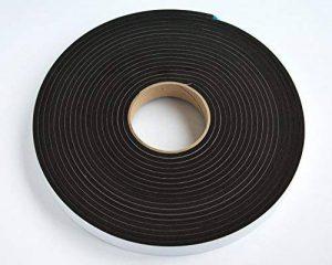 acoustique/isolation phonique ruban adhésif résistant–Largeur: 25mm x 5mm d'épaisseur x longueur de 10m de la marque Reemo image 0 produit
