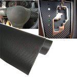 Adhésif 3D fibre carbone vinyle emballer voiture autocollant 1500 mm x 300 mm TRIXES de la marque TRIXES image 1 produit
