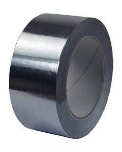 Adhésif 50 m x 50 mm-ruban adhésif aluminium aluminium pur la norme dIN 4102/b1 de la marque tape-profi image 0 produit