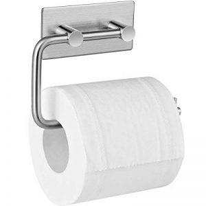 Adhésif Porte Papier Toilette, Aikzik® Distributeur Papier Mural WC Salles de Bains En Acier Inox Porte Rouleau Papier, Auto-Adhesif de la marque Aikzik image 0 produit