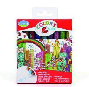 Aladine 42014 - Loisirs Créatifs - 9 Glitter Glue Tonic de la marque Aladine image 0 produit