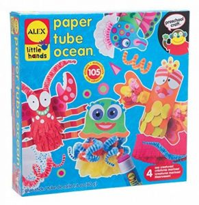 Alex Toys Little Hands 1418 - Kit De Loisirs Créatifs - Océan En Tube Papier de la marque Alex Toys Little Hands image 0 produit