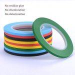 Amaza 16 Rollen 3mm x 33m DIY Washi Tape Masking Klebeband Rubans Adhésifs Autocollants Bandes Adhesives Décoratifs, 8 Couleurs (Multicolore) de la marque Amaza image 1 produit