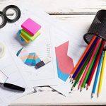Amaza 20pcs 3mm x 33m Noir Bricolage Décoratif Ruban Adhésif Autocollants Bande Papeterie Cadeau Scolaire (Noir) de la marque Amaza image 4 produit