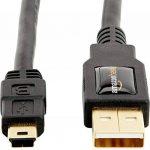 AmazonBasics Câble USB 2.0 mâle A vers mâle mini B 0,9 m de la marque AmazonBasics image 1 produit