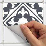 Ambiance-Live Carreaux de ciment adhésif mural - azulejos - 15 x 15 cm - 15 pièces de la marque Ambiance-Live image 2 produit