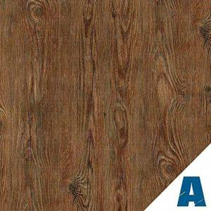 Artesive WD-023 Bois Rustique Foncé 30 cm x 2,5 mt. - Film Adhésif autocollant largeur en Vinyle Effet Bois pour la maison, la décoration, meubles, porte et toutes les surfaces lisses. de la marque Artesive image 0 produit