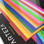 Arteza 14 Feuilles de Vinyle Thermocollant Premium Couleurs Assortis Transfert de Chaleur 25.4 X 30.5 cm - Permanent HTV - Fer sur vinyle (boite de 14 Couleurs) de la marque ARTEZA® image 4 produit
