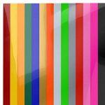 Arteza 14 Feuilles de Vinyle Thermocollant Premium Couleurs Assortis Transfert de Chaleur 25.4 X 30.5 cm - Permanent HTV - Fer sur vinyle (boite de 14 Couleurs) de la marque ARTEZA® image 2 produit