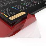 Arteza 42 Feuilles de Vinyle Auto-Adhésives Haute Qualité avec Couleurs Uniques 30,4 X 30,4 cm (En Boite de 42 feuilles) de la marque ARTEZA® image 2 produit