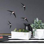 Arteza 50 Feuilles de Vinyle Auto-Adhésives Noires Mate Haute Qualité 30.5 X 30.5 cm (En Boite de 50 feuilles) de la marque ARTEZA® image 1 produit