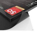 Arteza 50 Feuilles de Vinyle Auto-Adhésives Noires Mate Haute Qualité 30.5 X 30.5 cm (En Boite de 50 feuilles) de la marque ARTEZA® image 2 produit