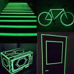 ARTGEAR Glow in the Dark Tape, Vert Lumineux Ruban Adhésif Autocollant, Ruban Phosphorescent, Fluorescente Nuit Autocollant, Amovible, Imperméable à L'eau, Photoluminescent, 10M x 1CM (Vert) de la marque ARTGEAR image 2 produit