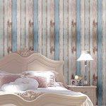 Arthome 31,6 pieds carrés bleu déstressé bois décoratif Auto-adhésif Peler et Coller papier peint décor (200-2) de la marque Art & Home image 3 produit