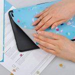 Autocollant pour Apple iPad Air | Feuille Adhésive Arrière Tablette PC | Protection d'écran - Image D'Impression | Motif Marbre Blanc de la marque creatisto image 4 produit
