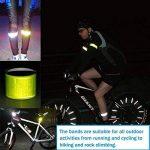 AutoDog Lot de 10 brassards réfléchissants, sécurité réfléchissantes pour bras jambes vélo joggeur enfants cheval 30 x 3 cm de la marque AutoDog image 4 produit