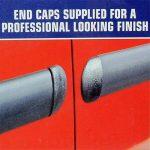 Bande de protection E-Tech pour carrosserie et pare-chocs de voiture - Rouleau de 5m avec embouts - Noir de la marque E-Tech image 1 produit