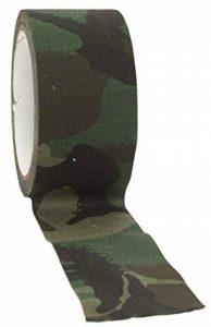 BANDE TISSU ADHESIF CAMO CAMOUFLAGE WOODLAND 5 CM X 10 M MILTEC 15934020 PROTECTION AIRSOFT de la marque Miltec image 0 produit