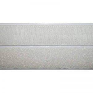 Bande Velcro autocollant blanc 50mm de large 1m bande Velcro crochet et bande velours Coller Adhésif de la marque Jajasio image 0 produit