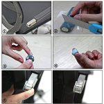 Barre de mastic en époxyde, XUDOAI colle époxydique avec de la plasticité pour le remplissage de fissures, réparation, cachetage, et la réparation rapide ou permanente de métal, verre, plastique et autres matériaux de la marque XUDOAI image 2 produit
