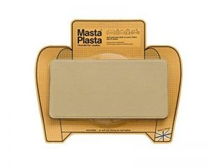 Beige MastaPlasta Self-Adhesive Leather Repair Patches. Choose size/design. First-aid for sofas, car seats, handbags, jackets etc. (BEIGE SUPER-PLAIN 20cmx10cm) de la marque MastaPlasta image 0 produit