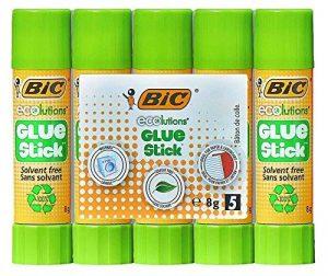 BIC ECOlutions Bâtons de Colle - 8g, Pack de 5 de la marque BIC image 0 produit