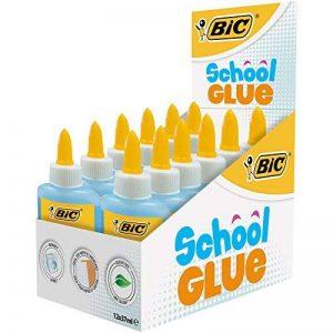 BIC School Glue Colles Liquides - Boîte de 12 de la marque BIC image 0 produit