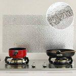 Bleulover Autocollant D'Huile De Cuisine En Aluminium Film Auto-Adhésif Cuisine Anti Huile Cabinet Wall Paper Adhésif de la marque Bluelover image 1 produit