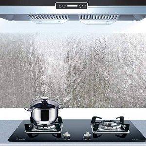 Bleulover Autocollant D'Huile De Cuisine En Aluminium Film Auto-Adhésif Cuisine Anti Huile Cabinet Wall Paper Adhésif de la marque Bluelover image 0 produit