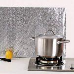 Bleulover Autocollant D'Huile De Cuisine En Aluminium Film Auto-Adhésif Cuisine Anti Huile Cabinet Wall Paper Adhésif de la marque Bluelover image 2 produit