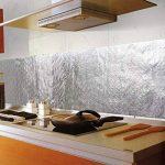 Bleulover Autocollant D'Huile De Cuisine En Aluminium Film Auto-Adhésif Cuisine Anti Huile Cabinet Wall Paper Adhésif de la marque Bluelover image 4 produit