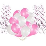Bliqniq 15x fleurs en papier de soie pour la décoration de la noce,du baby shower.Blanc/Rose Clair/Rose(ø20,25,35cm) … de la marque Bliqniq image 3 produit