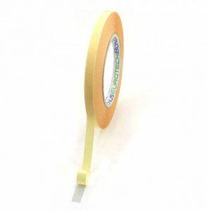 BONUS Eurotech 2BL11.00.0009/050A# Auto-adhésif double face, largeur 9 mm, longueur 50 m, adhésif double face en caoutchouc synthétique, épaisseur totale 0.09 mm, jaune de la marque BONUS Eurotech image 0 produit