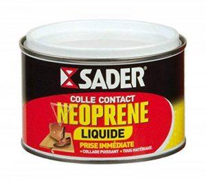 Bostik SA 021242 Colle contact néoprène liquide Boîte de 250 ml de la marque Sader image 0 produit