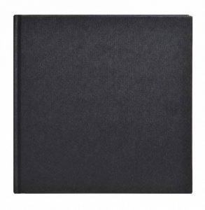 Clairefontaine 34250C Goldline carnet collé 64F 20x20cm 140g papier blanc Noir - couverture rigide de la marque Clairefontaine image 0 produit
